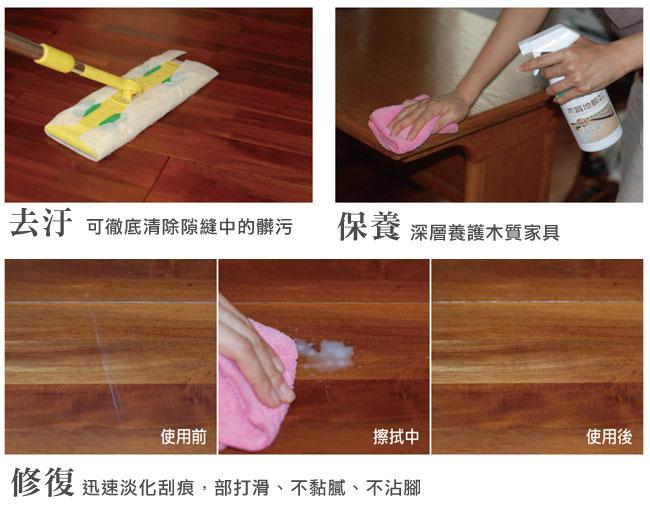 木質地板護木精油適用範圍